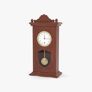 3D model old clock d