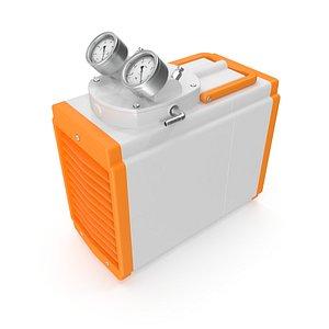 3D Industrial Vacuum Pump Oil