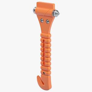 Glass Breaker Hammer 3D
