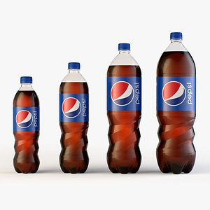 3D Pepsi Bottles Collection