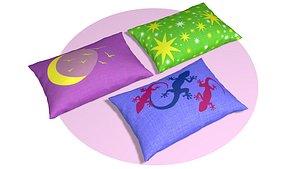 pillows decor model