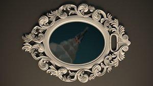 mirror cnc printing 3D model