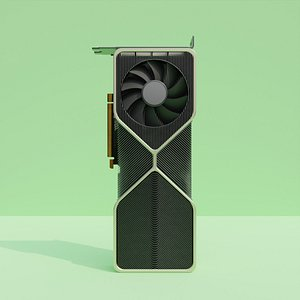 NVidia RTX 3080 Founders Edition 3D model