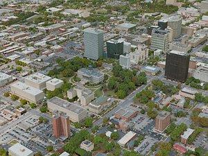 3D columbia city model