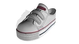 Children's shoes 3D model