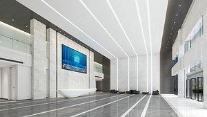 Modern Hall 38 3D