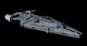 star wars imperial light 3D