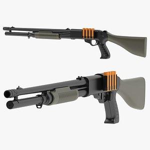 Franchi SAS-12 3D model