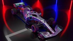 Mercedes W10 F1 textured 3D
