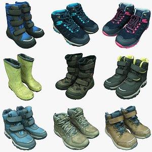 3D boots shoes fashion
