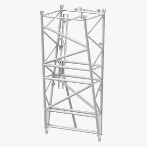 3D crane f intermediate pivot