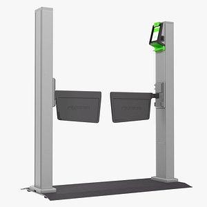 Smart Gate Flap Paddle 3D