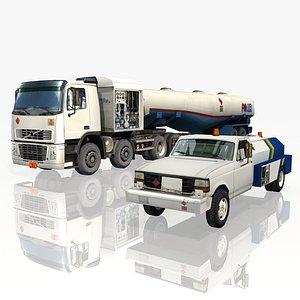 Airport vehicles 2 Model 3D model