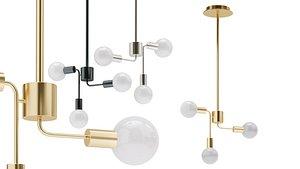 lampatron chandelier lamp 3D
