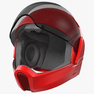 3D model Smart Motorcycle Helmet