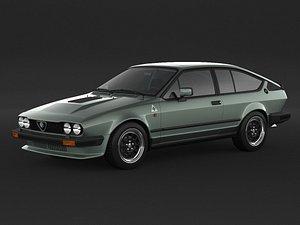 Alfa Romeo Alfetta GTV6 3D model