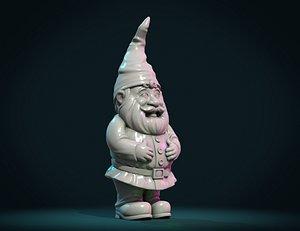 3D model Print ready Gnome