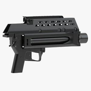 3D HK AG36 Grenade Launcher