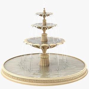 3D Classic Fountain