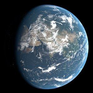 Planet Earth 21k texture 3D model