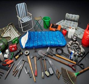 items shovels 3D