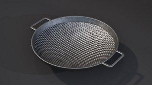 3D kitchenware cookware