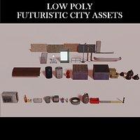 City Assets Cyberpunk