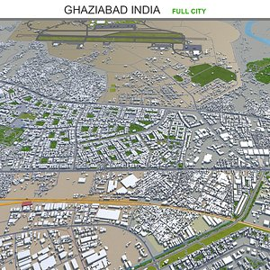 Ghaziabad India 3D model