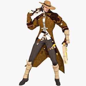 3D Cowboy 4