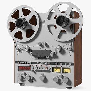 Open Reel Tape Machine M 063 H5 3D model