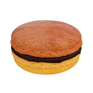macaroon macaron food 3D model