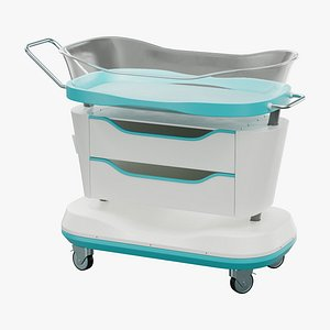 crib hospital 3D