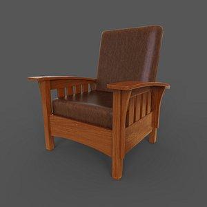 3D model Chair Morris Classic