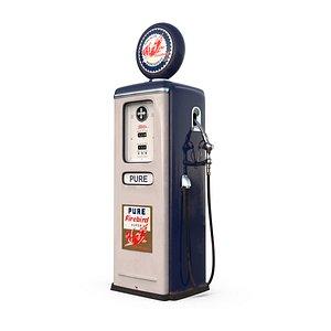 firebird gasoline pump 3D model