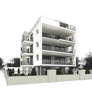 Residential building 03 model