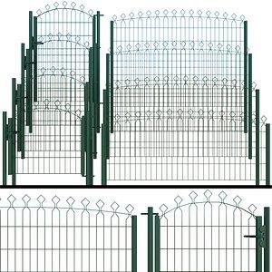 3D gate wicket model