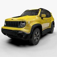 Jeep Renegade Yellow Trailhawk 2019 L070 model