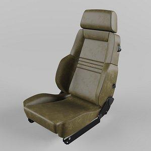 3D RECARO Expert Comfort Beige Seat