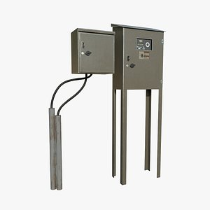 Electric Box 3D model