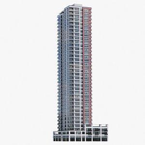 Vancouver Apartments V1 3D model