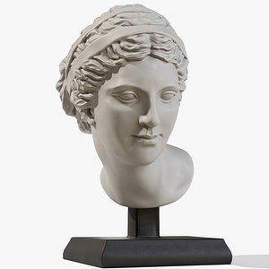 Aphrodite  Head model