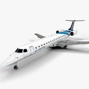 3D model CONTOUR EMBRAER ERJ 145 L1410