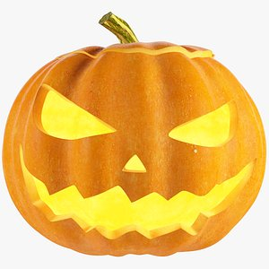 Halloween Pumpkin V2 3D model