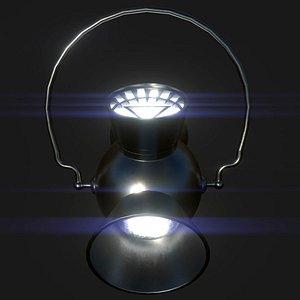 DC White Lantern Power Battery and Ring model