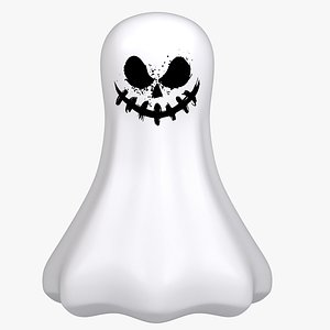 modeled ghost 3D