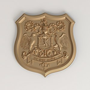 3D model 3D model of the Indian coat of arms