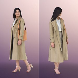 woman young business 3D