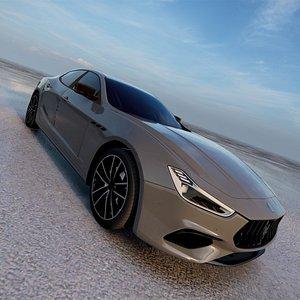 Maserati Ghibli Hybrid 2021 3D model