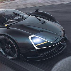 3D car concept f76