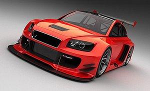 racing 3D model